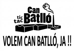 Can Batlló - Pancarta