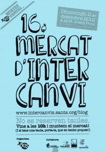 Mercat d'Intercanvi a Sants (2/12/12)