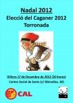 Elecció del Caganer de l'any i Torronada (17/12/12)