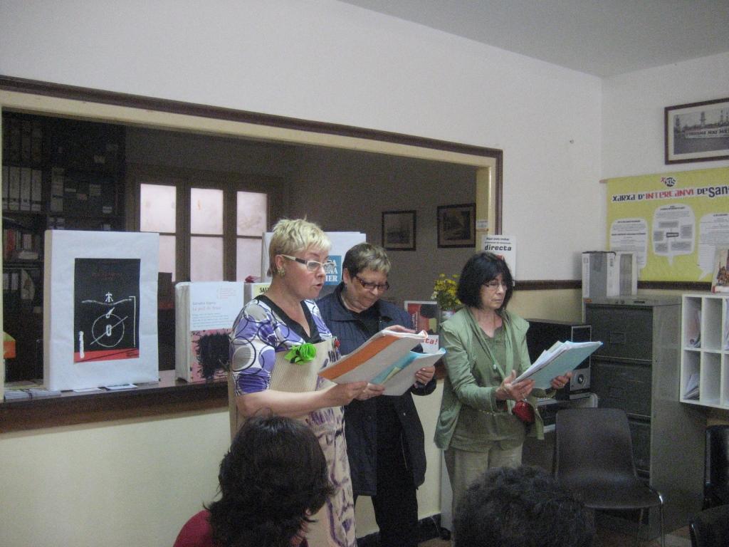 El Col·lectiu d'Artistes de Sants homenatja a Salvador Espriu