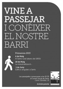 Passejades x Sants 201304