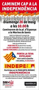 CARTELL CAMINADA LA MARINA