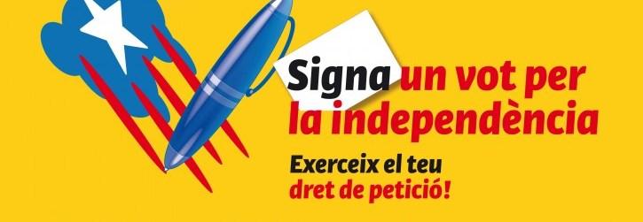 Segona recollida massiva de «Vots per la Independència» al Centre Social de Sants