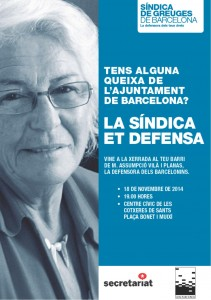 20141118 Sindica BCN