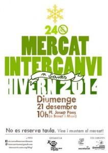20141221 Mercat Intercanvi Sants