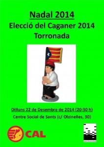 20141222 Torronada i Caganer 2014