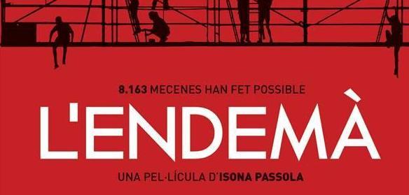 Projecció de la pel·lícula «L'endemà» al Casinet