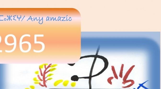 Celebra l'any nou amazic 2965 al Centre Social