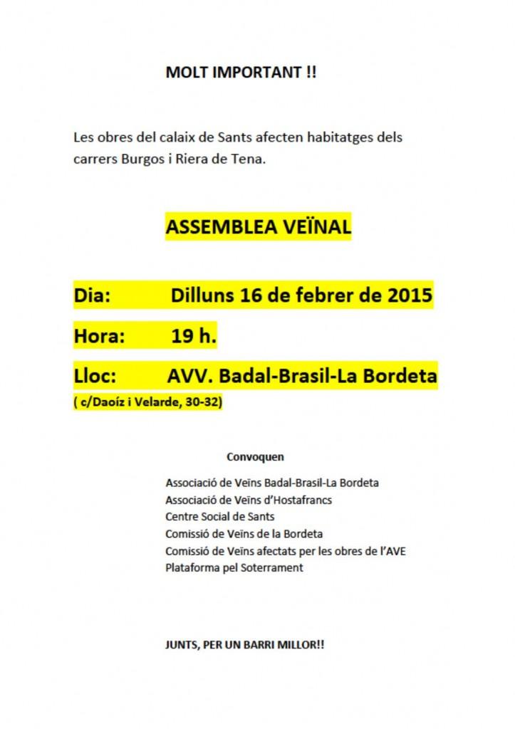 20150216 Assemblea Veïnal