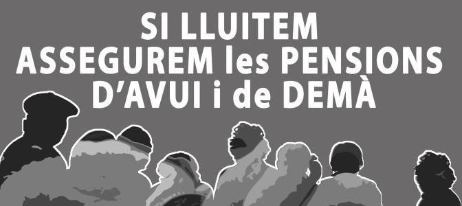 Assemblea en defensa de les pensions públiques (25 de febrer)