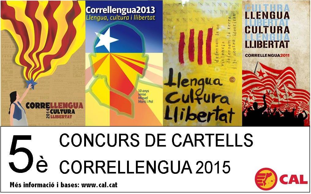 Concurs Cartells Correllengua 2015