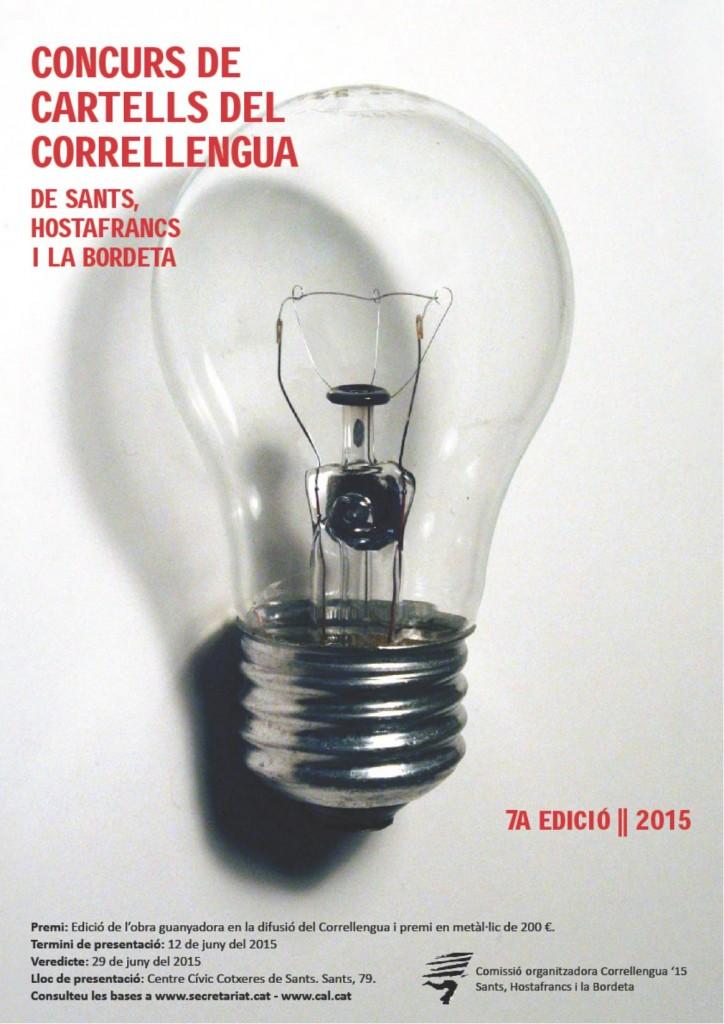Concurs Cartell Correllengua 2015