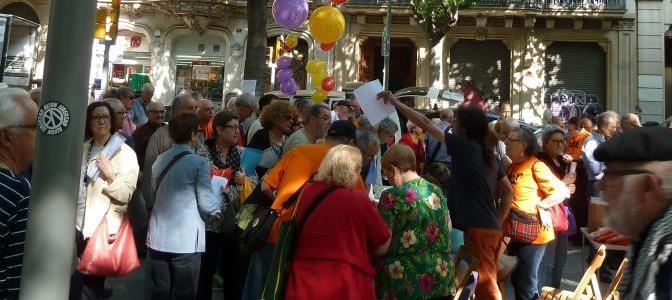 Recolzar els pensionistes d'avui és defensar les pensions del futur (Abril 2016)