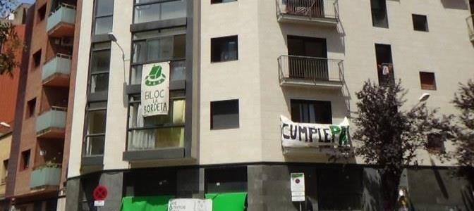 Suspés el desallotjament del Bloc la Bordeta (juliol 2015)