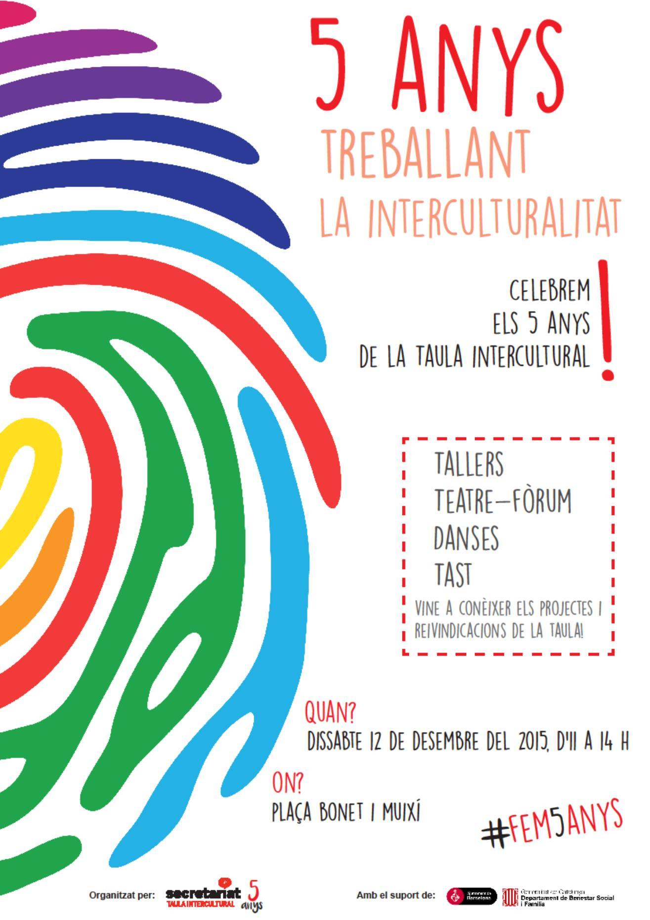 20151212 Aniversari Taula Intercultural