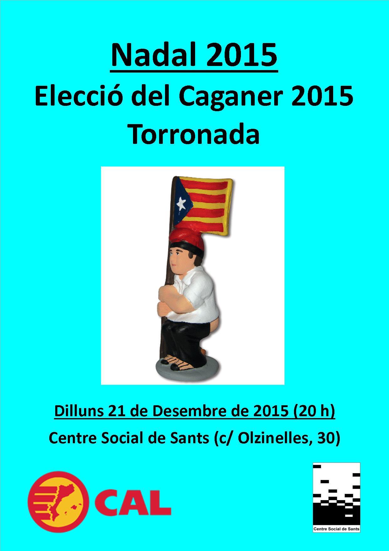 20151221 Torronada i Caganer 2015