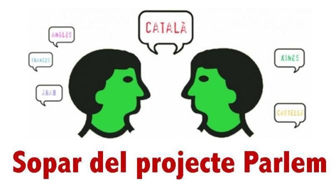 Sopar del projecte Parlem (22/01)