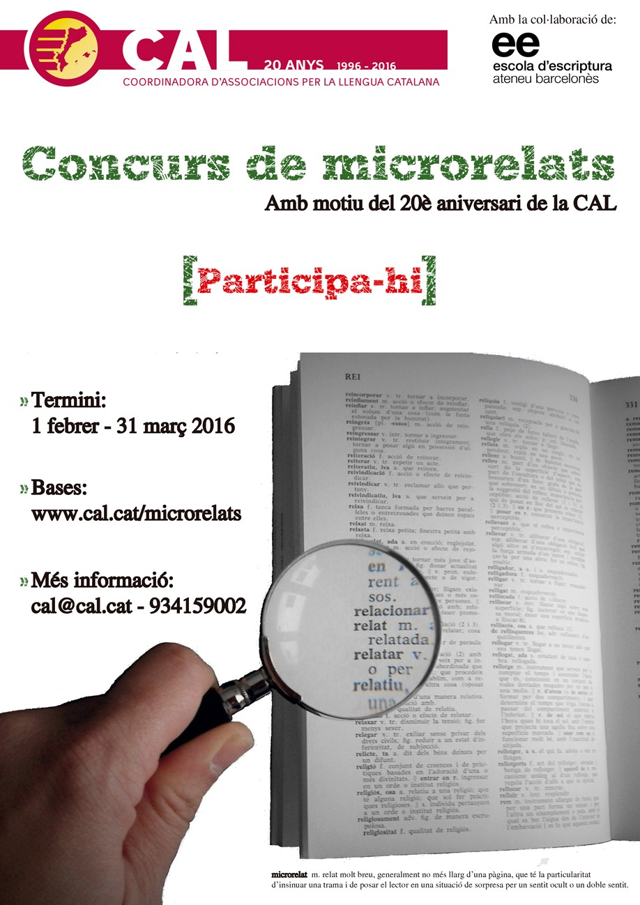 Concurs Microrelats CAL 201501