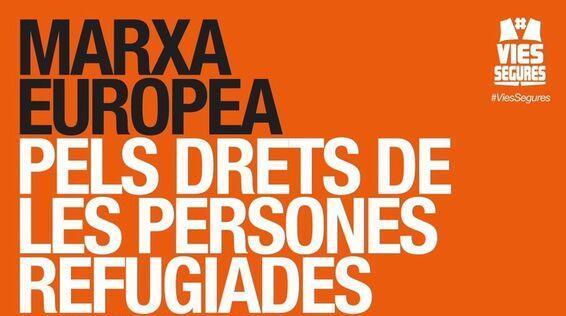 Marxa Europea pels Drets de les Persones Refugiades (27/02)
