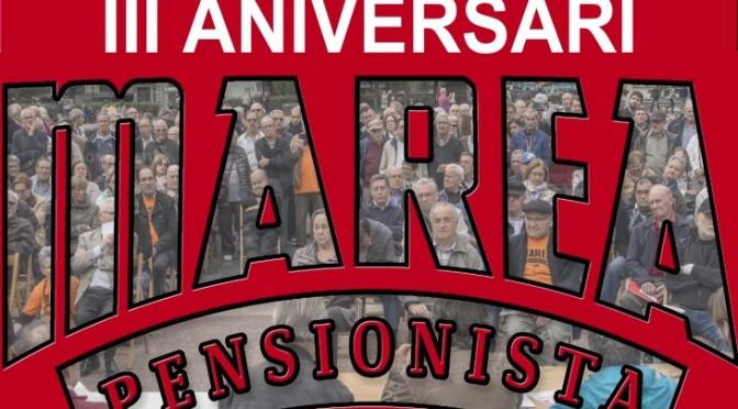 3r aniversari de la Marea Pensionista (10/03)
