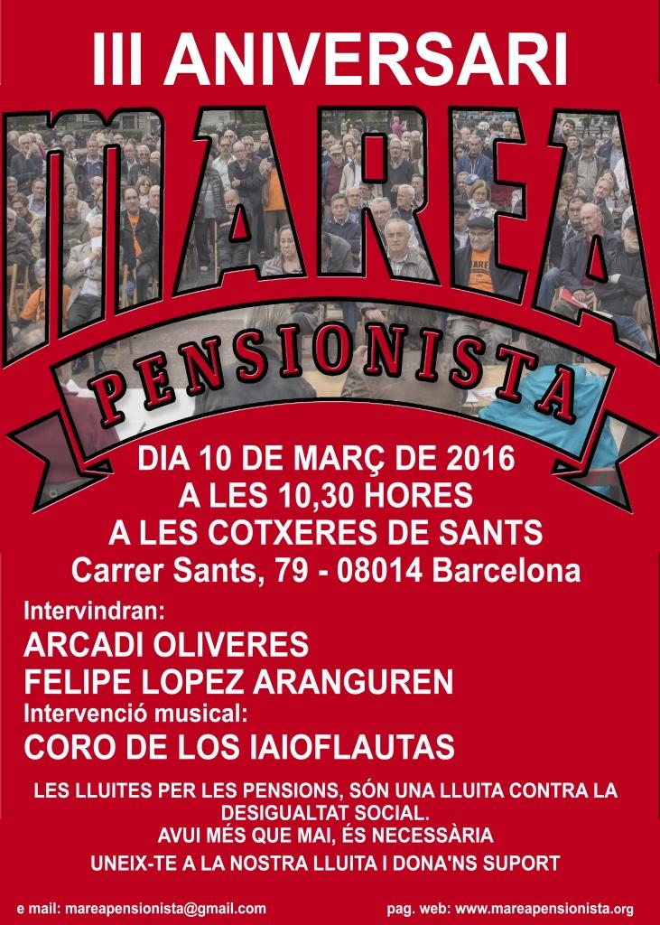 20160310 Aniversari Marea Pensionista