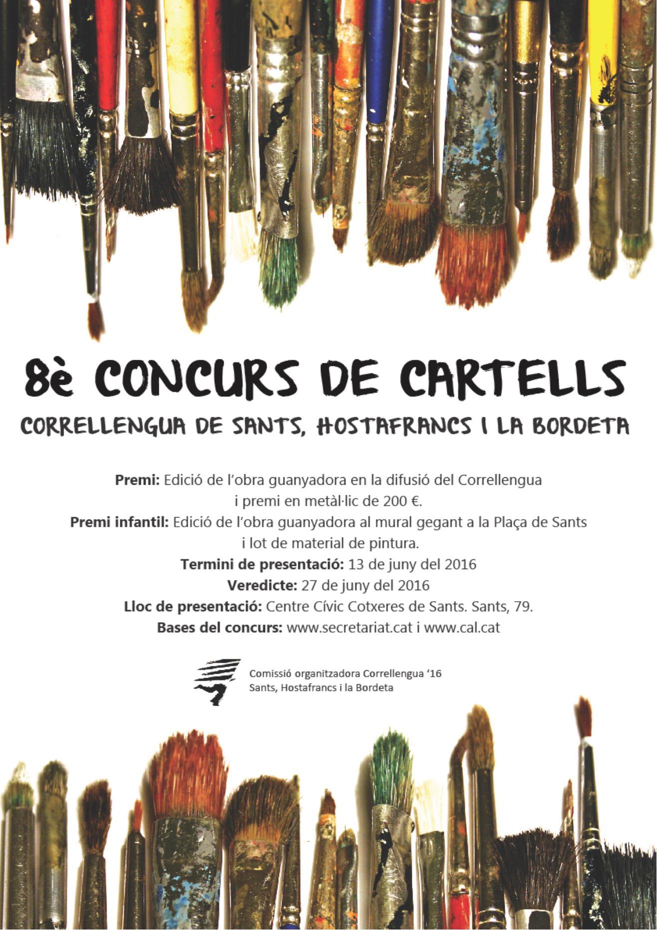 Concurs Cartell Correllengua 2016