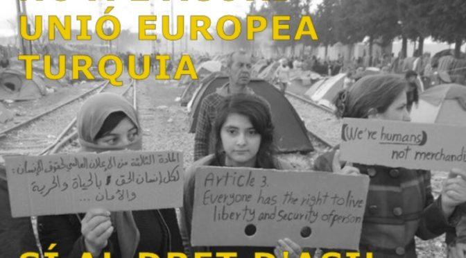 A Sants ens solidaritzem amb les persones refugiades (8 juny)
