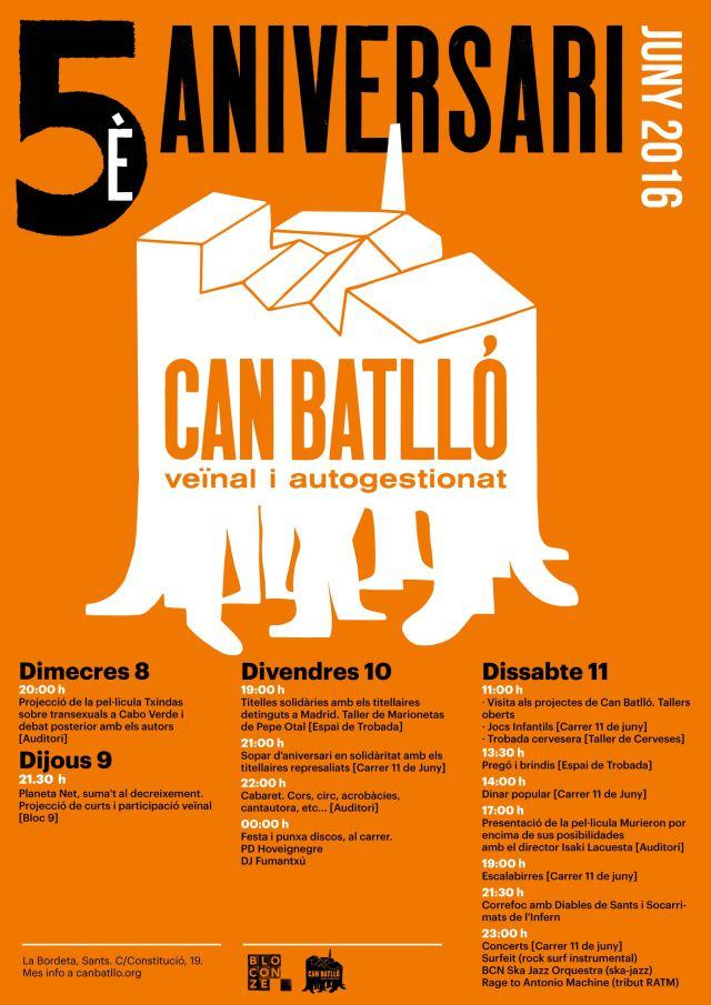 20160611 Aniversari Can Batlló
