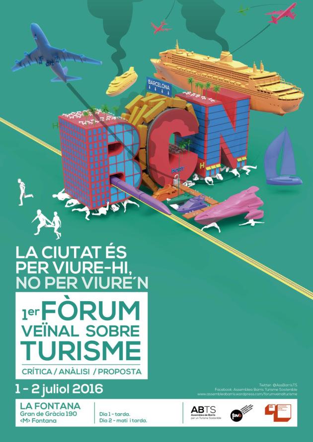 20160701 Fòrum Veïnal Turisme