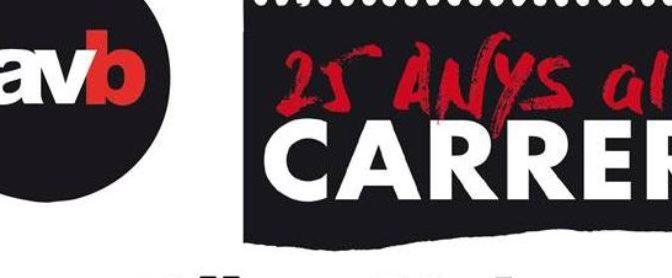 La revista Carrer de la Favb celebra els 25 anys a Can Batlló (16 març)