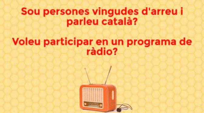 Vols participar en el programa de ràdio Xerrem d'arreu? – Maig 2017