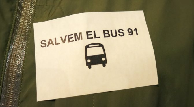 La Bordeta ha salvat el Bus 91