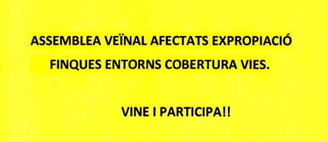 Assemblea veïnal pels afectats de les expropiacions dels carrers Burgos i Riera de Tena – 12 Juliol