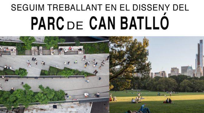 Com t'agradaria que fos el Parc de Can Batlló? – Vine a l'assemblea del 12 de febrer