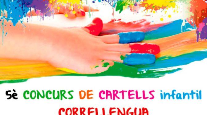 Participa al concurs de cartells infantil pel Correllengua 2018 – fins el 3 d'abril