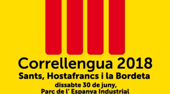 Vine al Correllengua 2018 – del 25 al 30 de juny 2018