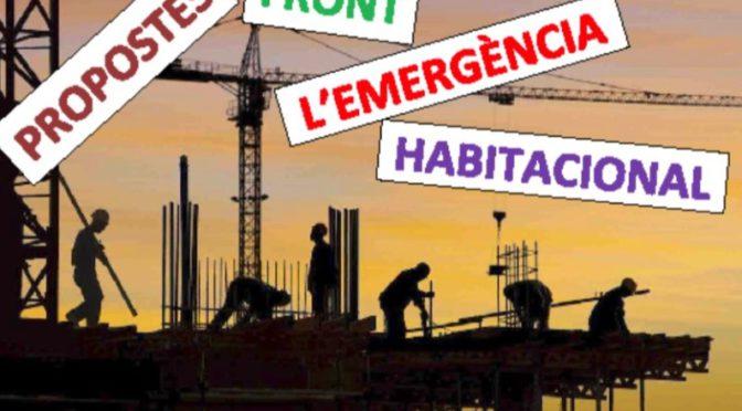 I si parlem de l'emergència habitacional? – 26 novembre