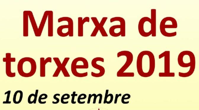 Marxa de Torxes per la independència a Sants-Montjuïc – 10 setembre