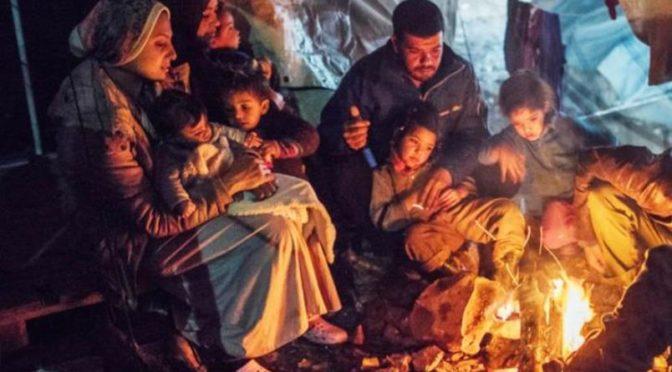 S.O.S: persones refugiades a Grècia – 12 febrer