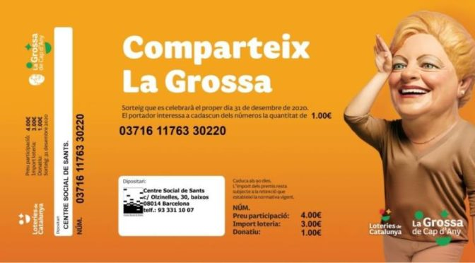 Grossa Cap d'Any 2020 del Centre Social de Sants